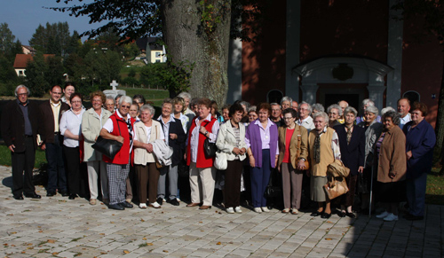 Gruppenfoto Frauenbund in Moosbach