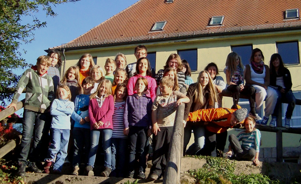 Gruppenfoto Wernersreuth 2011